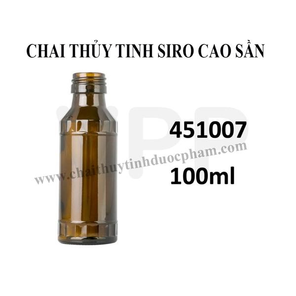 CHAI SIRO THỦY TINH CAO SẦN 100ml